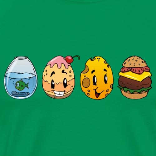 Ostereier Shirt - Männer Premium T-Shirt