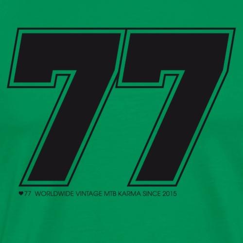 77 - Männer Premium T-Shirt