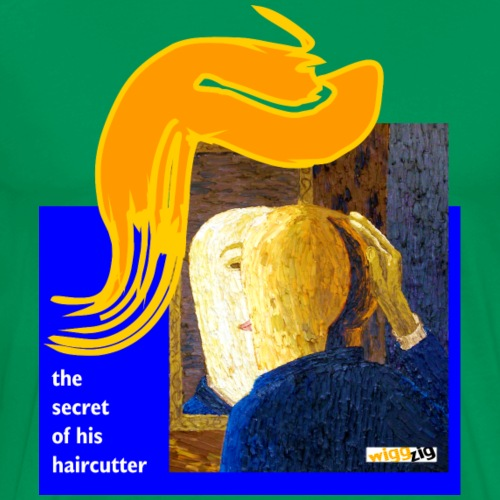 Trump: haircutters secret - Männer Premium T-Shirt
