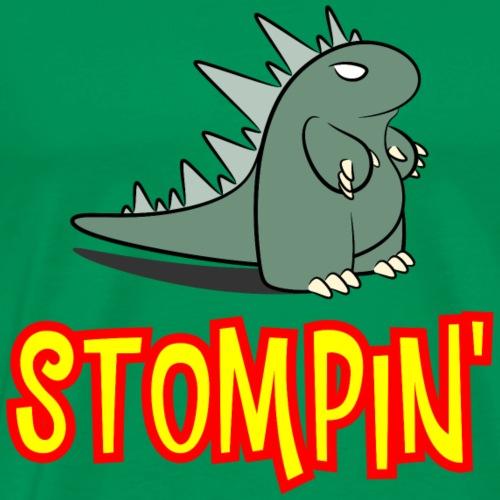Stompin' Monster - Men's Premium T-Shirt