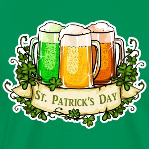 St Patricks Day - Premium-T-shirt herr