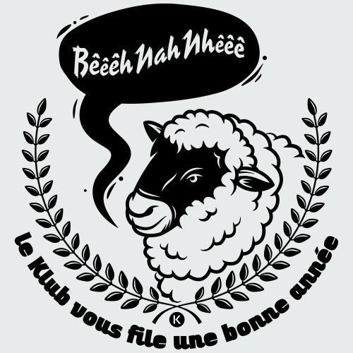 Bêêêh Nah Nhêêê - LE KLUB - T-shirt Premium Homme