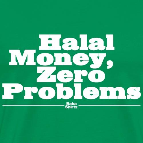 Babashirtz Halal Money - Männer Premium T-Shirt