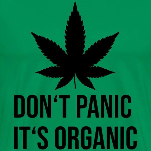 Don't Panic It's organic Hanfblatt - Männer Premium T-Shirt