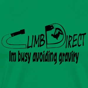 Busy avoiding gravity - Men's Premium T-Shirt
