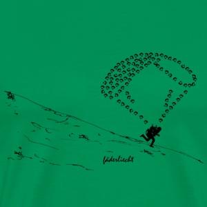 Gleitschirm fdl1b - Männer Premium T-Shirt