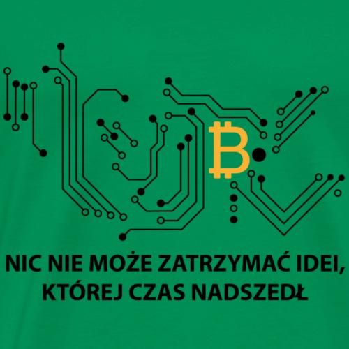 bitcoin generation - Koszulka męska Premium