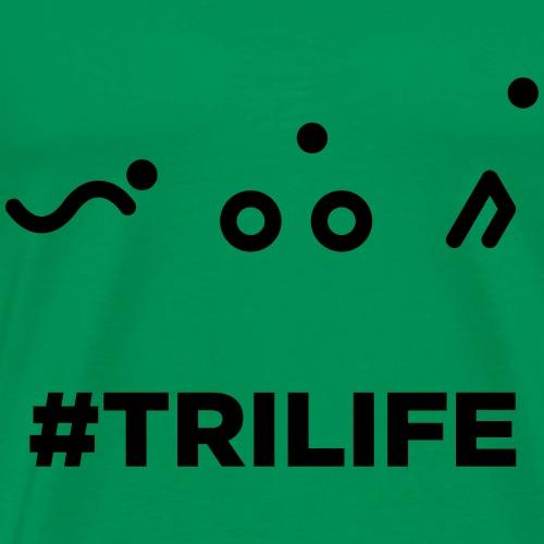 TRIATHLON TRILIFE - Premium T-skjorte for menn