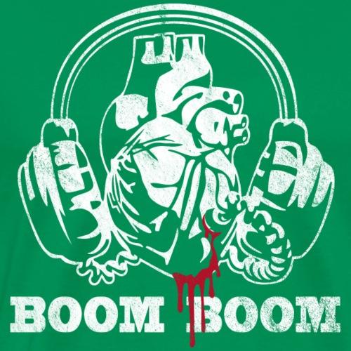 WHAS - Boom Boom vintage - Männer Premium T-Shirt