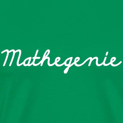 Mathegenie2 - Männer Premium T-Shirt