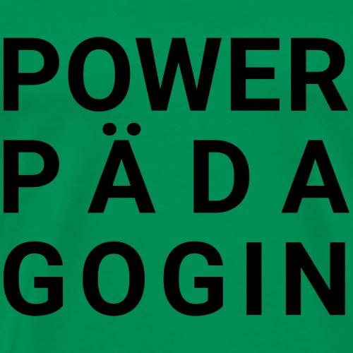 Powerpädagogin - Männer Premium T-Shirt