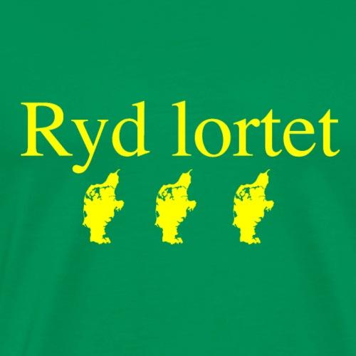 Ryd Lortet - Herre premium T-shirt