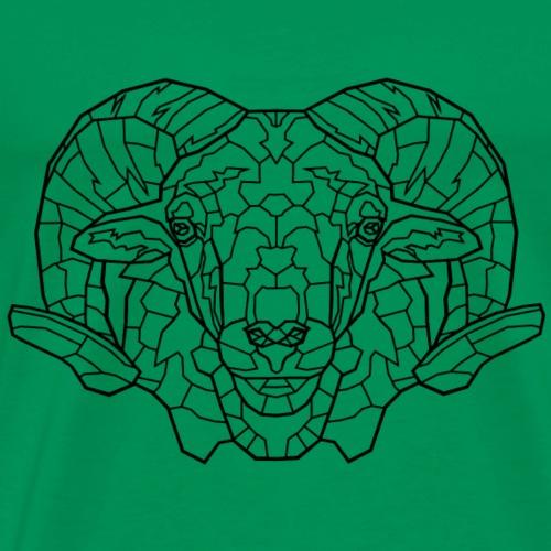 Widder - Männer Premium T-Shirt