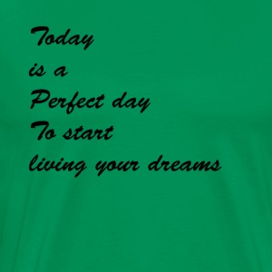 Today is a perfect day - Men's Premium T-Shirt