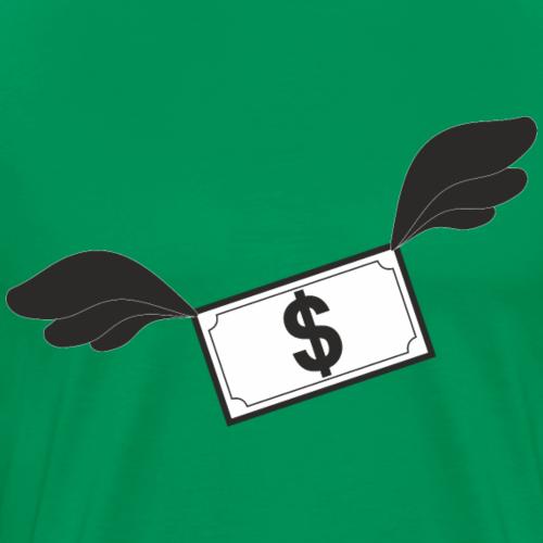 Kasa doda Ci skrzydeł! - Koszulka męska Premium
