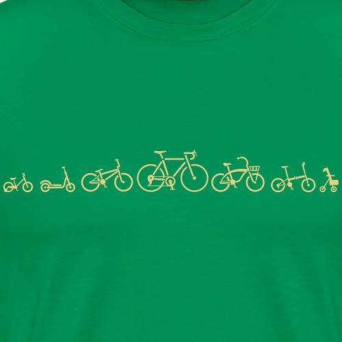 ution évolution de vélo vélo vêtements de vélo - T-shirt Premium Homme