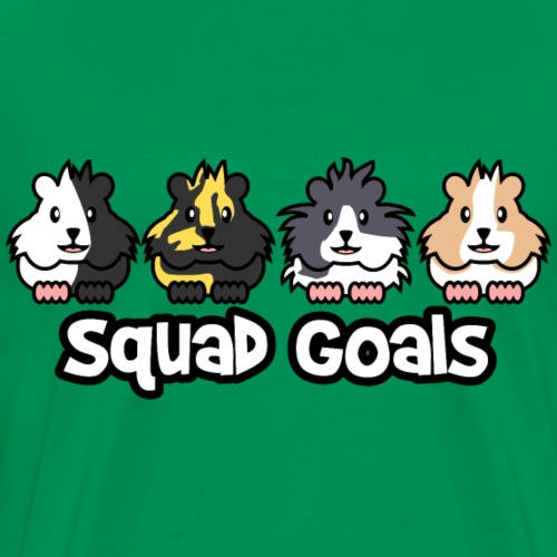 Meerschweinchen Squad Goals - Männer Premium T-Shirt