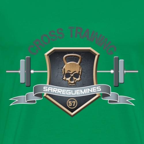 CROSS TRAINING 57 - Logo Homme - T-shirt Premium Homme