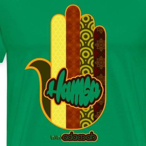 Hamsa 70s style - Men's Premium T-Shirt