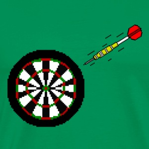 Dart To Board - Männer Premium T-Shirt