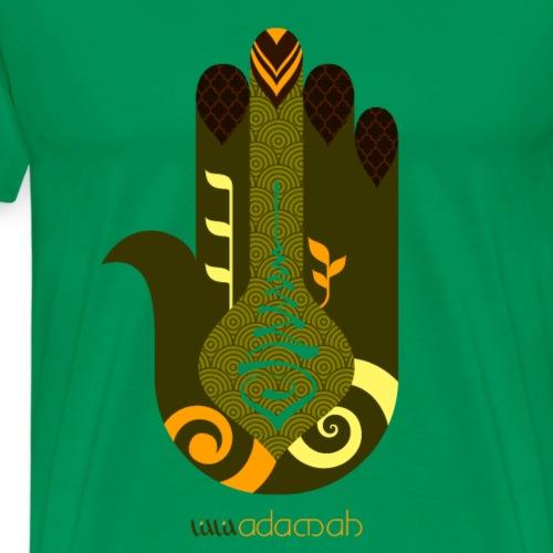 Hamsa.: Hand of Fatima - Men's Premium T-Shirt