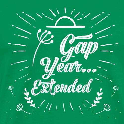 Gap Year... Extended - Men's Premium T-Shirt
