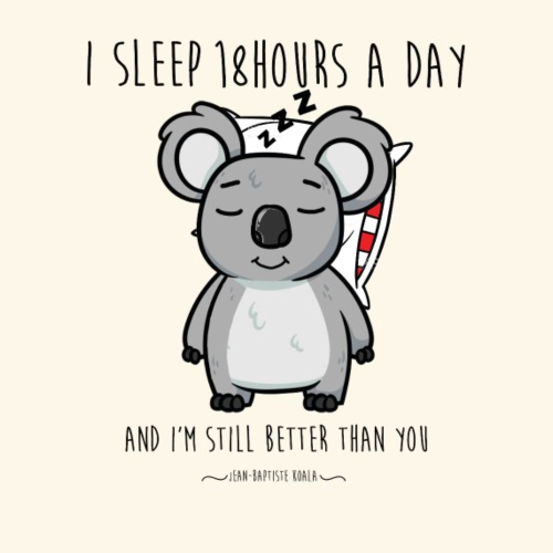 I'm a koala sleeper - T-shirt Premium Homme