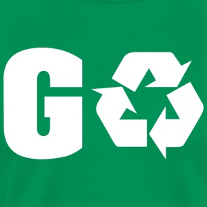 Earth Day Recycle Go Green - Männer Premium T-Shirt