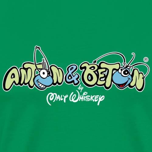 Anton & Beton Original Malt Whiskey Logo von1996 - Männer Premium T-Shirt