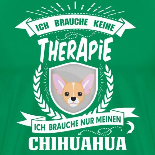 Therapie Chihuahua WHT - Männer Premium T-Shirt