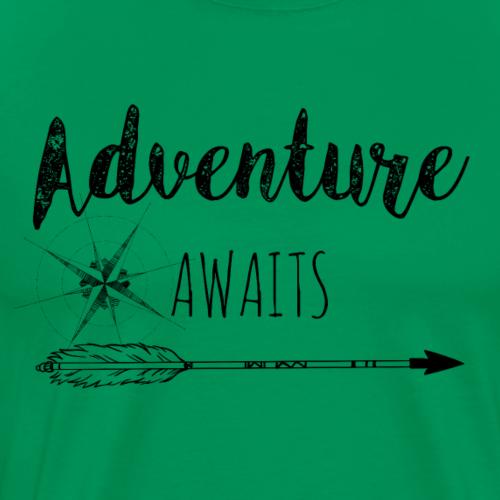 Adventure Awaits - Männer Premium T-Shirt