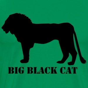 Big black cat - Men's Premium T-Shirt
