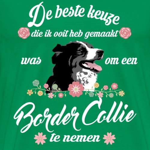 Border Collie - Mannen Premium T-shirt