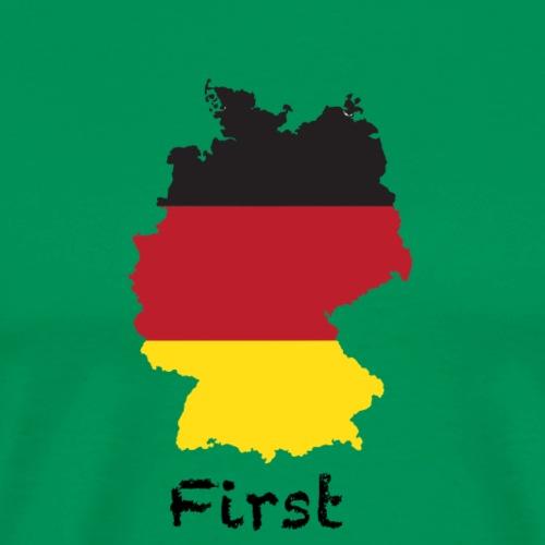 Germany First - Männer Premium T-Shirt