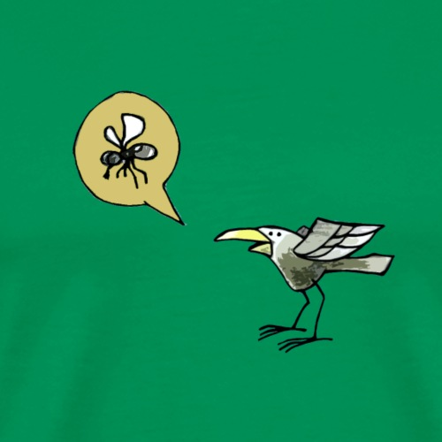 Hungry Bird - Männer Premium T-Shirt