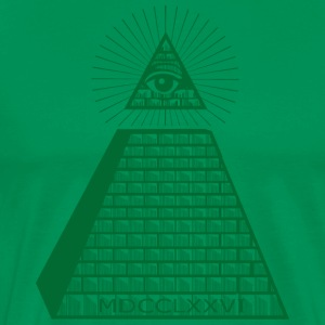 Eye of Providence - Premium T-skjorte for menn