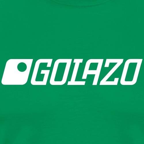 GOLAZO Logo - Männer Premium T-Shirt