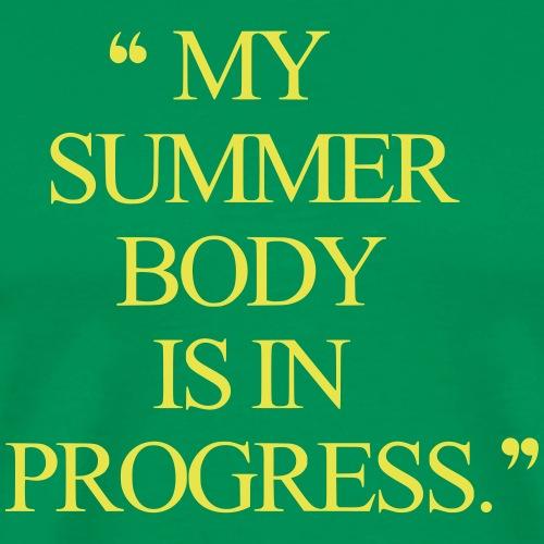 summer body workout - Männer Premium T-Shirt