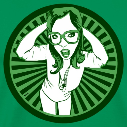 Frau Character Design - Männer Premium T-Shirt