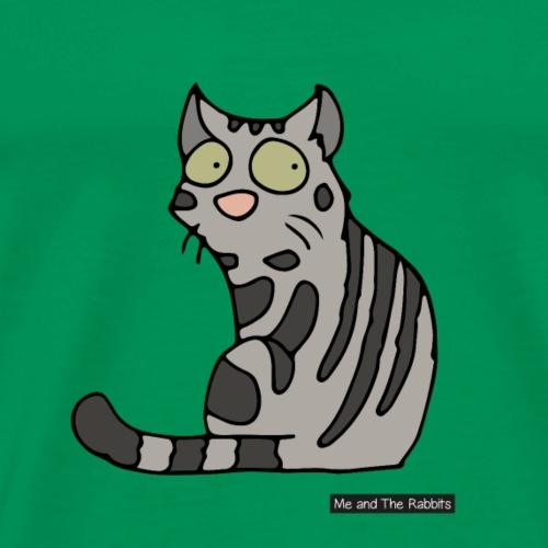 Katt - amerikansk korthår - Premium-T-shirt herr