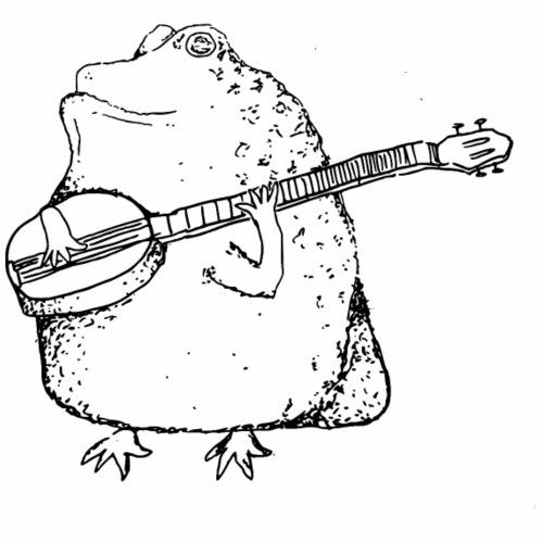 Banjo-Herbert - Männer Premium T-Shirt