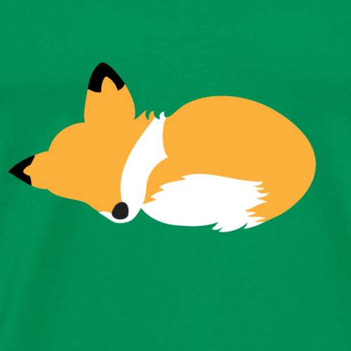 Volpe che dorme - Maglietta Premium da uomo