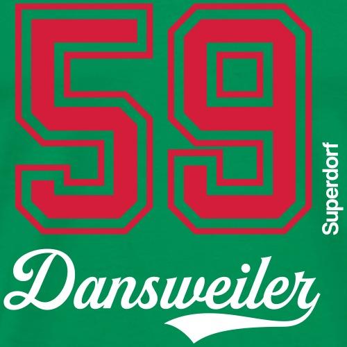 Superdorf Dansweiler - Männer Premium T-Shirt