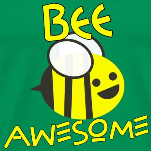 BEE AWESOME Biene Super Geschenk Geschenkidee - Männer Premium T-Shirt