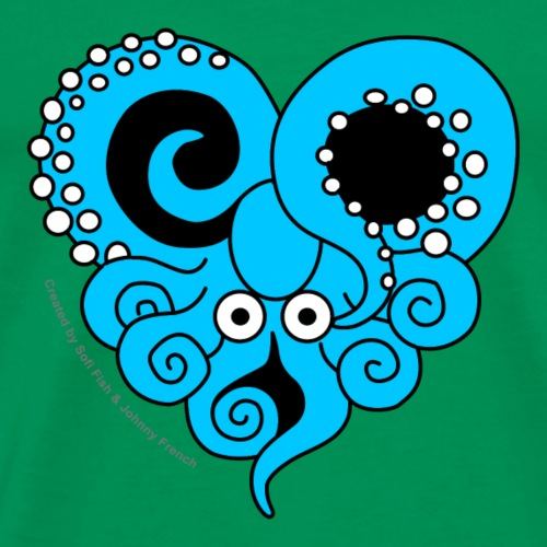 Poulpe Amoureux - Octopus In Love - T-shirt Premium Homme