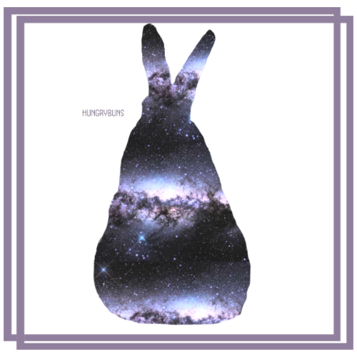 Galaxy bunny-the milky way - Men's Premium T-Shirt