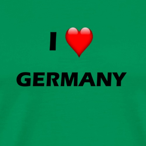 I Love Germany T-Shirt - Männer Premium T-Shirt