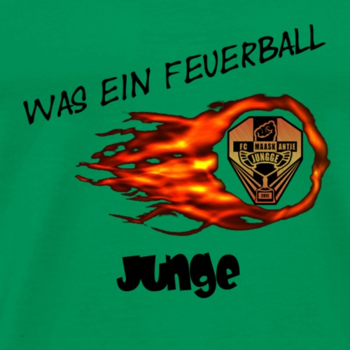 feurball Maaskantje transparent - Männer Premium T-Shirt