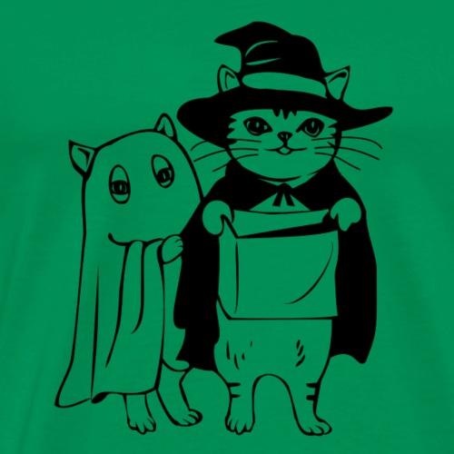 Verkleidete Katze - Männer Premium T-Shirt
