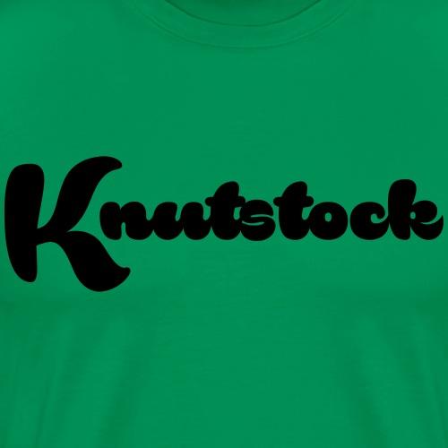 KnutstockLogo - Männer Premium T-Shirt